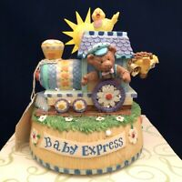 San Francisco Music Box Co Baby Express Engine Debra Jordan Bryan China