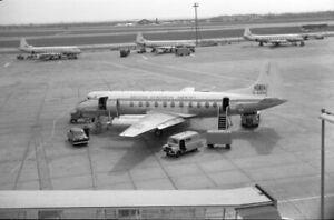 BEA, Viscount 802, G-AOHH 'Sir Robert McClure', Heathrow, c1957; original neg