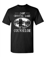 Camp Crystal Lake Counselor 1935 Summer Parody Funny TV DT Adult T-Shirt Tee