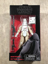 Star Wars The Black Series 35: Snowtrooper 6? Action Figure 2016