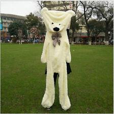 72inch BIG PLUSH White TEDDY BEAR Skin semi-finished product toy doll Xmas gift