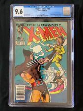 Uncanny X-Men #195 CGC 9.6 (1985) RARE Newsstand - Wolverine cover