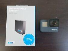 GoPro HERO5 Black 12 MP Waterproof 4K WiFi Camera Camcorder w/ new battery