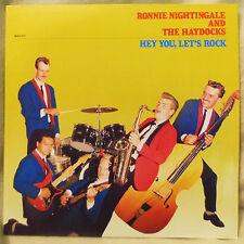 LP - Ronnie Nightingale and The Haydocks - Hey You, Let's Rock  [MAC - 013]