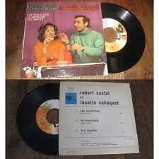 ROBERT CASTEL & LUCETTE SAHUQUET-Les Publicités French EP Barclay Sixties