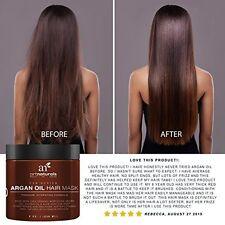 Moroccan Argan Oil Hair Mask Deep Conditioner Argan Organic Repair Dry Damage