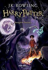 Harry Potter i Insygnia Smierci, J.K. Rowling, polska ksiazka, polish book