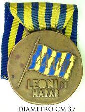 115) Medaglia Campagne d'Africa XXXVII Battaglione Coloniale Leoni di Harar