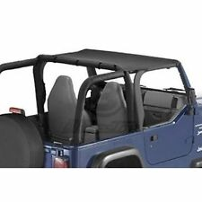 Bestop 52521-15 Bikini Tops Strapless Black Denim for 1997-2002 Jeep Wrangler
