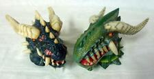 Set of 2 Dragon Head Wall Mounted Towel Holders
