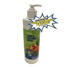 Fruit & Veggie Wash Concentrate | 16 oz makes 96 gallons | A guaranteed product