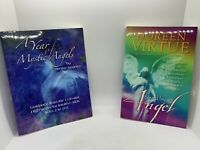 2 NEW Spirit SC Books: Saved by Angel (Virtue), Year of Mystic Angels (Iwaniw)