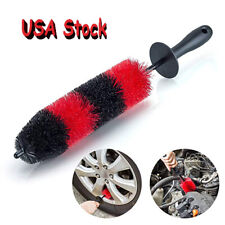 Car Wheel Brush Rim Tire Detailing Automotive Care Exhaust Tip Motorcycles Brush