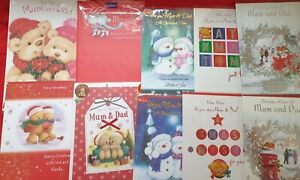 Christmas Cards - Mum & Dad, Mummy and Daddy, Parents (standard post)