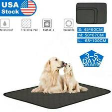 Reusable Pet Puppy Cat Dog Wee Pee Training Absorbent Pad Washable Mat