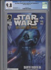 STAR WARS DARTH VADER AND THE LOST COMMAND #1 MT 9.8 CGC WHITE PAGES SANDA COVER