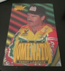 TERRY LABONTE 1995 Wheels High Gear Racing Dominator Bonus Card