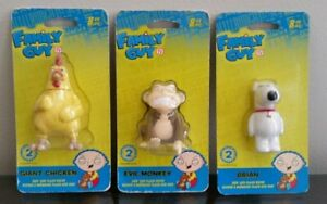 Family Guy USB Keys 8 GB Brian Griffin Evil Monkey Giant Chicken New + Sealed !!