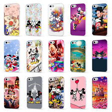 MICKEY MINNIE MOUSE DISNEY LOVE WHITE PHONE CASE COVER for iPHONE 4 5 6 7 8 X