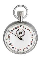 TFA Dostmann 38.1021 - Cronometro meccanico, metallo cromato (V8q)