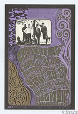 Bill Graham 46 Postcard Butterfield Blues band 1967 Jan 20