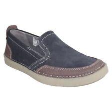 Zapatos informales de hombre Clarks color principal azul de ante