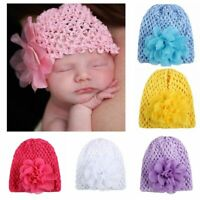 Beanie Bowknot Head Wrap Kids Turban Newborn Caps Toddler Hat Infant Headband