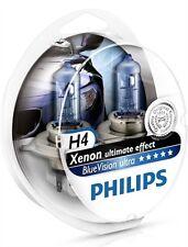 2 AMPOULE H4 PHILIPS ALFA 6 33 75 90 ALFETTA BLUE ULTRA XENON EFFECT