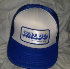 VTG Waldo Distributing Ltd Advertising Patch Hat A3