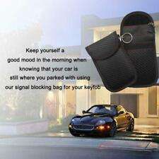 Car Key Fob RFID Signal Blocker Faraday Signal Blocking Bag Pouch Anti-thef D9R8
