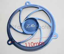 Fan Decoration Cover in BLUE for 150cc GY6  157QMJ Engine, Chinese Gas Scooters