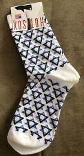 Hot Sox Hanukkah Chanukah Jewish Women Size 9-11 Star Of David Socks New