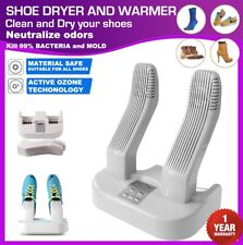 Electric Shoe Dryer Warmer Deodorizer Steriliser Ozone Sanitiser Adjustable Rack