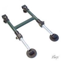 Teleskop Zweibein Zusatz Bein Lucx® F. Angelliege Karpfenliege Camping Liege