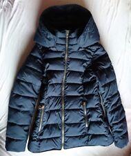 Esprit Winterjacke 38 M 176 Basic extra warm dunkelblau Kapuze NEUw Steppjacke