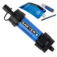 MINI Portable Water Filter Survival Purifier Water Filtration System Drinking US