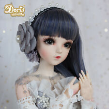 BJD Doll 1/3 Ball Jointed Girl Dolls Face Wig Clothes Makeup Xmas Toy FULL SET