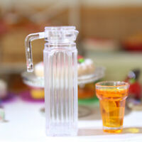 Dollhouse miniature juice jug pretend play furniture toys for miniature kitchenV