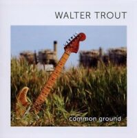 WALTER TROUT - COMMON GROUND  CD NEW
