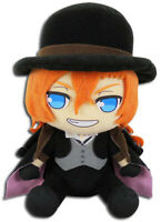 **Legit** Bungo Stray Dogs 8'' Authentic Anime Mafia Plush Chuya Nakahara #52272
