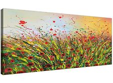 Modern Abstract Floral Summertime Canvas Prints for your Living Room