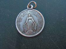 medaille   religieuse ancienne  chapelle st coeur de marie en argent