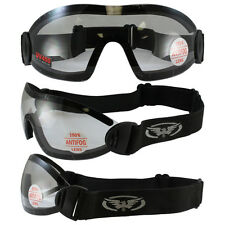 3 Clear SKYDIVE GOGGLES SKYDIVING GOOGLES SKY Hang Gliding Motorcycle Riding