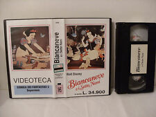 VHS - BIANCANEVE E I SETTE NANI (Ediz. Videoteca-comica dei fantastici 3 superm)