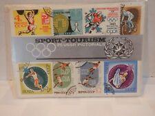 Vintage Sport-Tourism 25 USSR Pictorials, Stamps