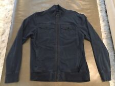 Lululemon Athletica Mens Jericho Full Zip Jacket Dark Blue Large $168