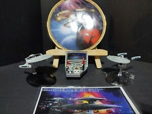 Star Trek Ship Lot Enterprise Reliant eagle moss