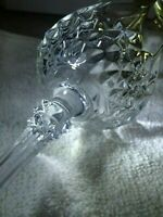 Four Cristal D'Arques Longchamp Wine Glasses set of 4 Crystal Wine Glasses