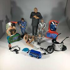 Lot of Austin Powers Movie Action Figures Dr Evil Mini Me Vehicle McFarlane Toys