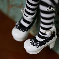 1/6 BJD Shoes Tiny Yosd Dollfie DREAM White bow Shoes Luts AOD SOOM DOD Dollmore